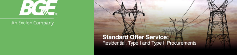 Baltimore Gas & Electric - Standard Offer Service